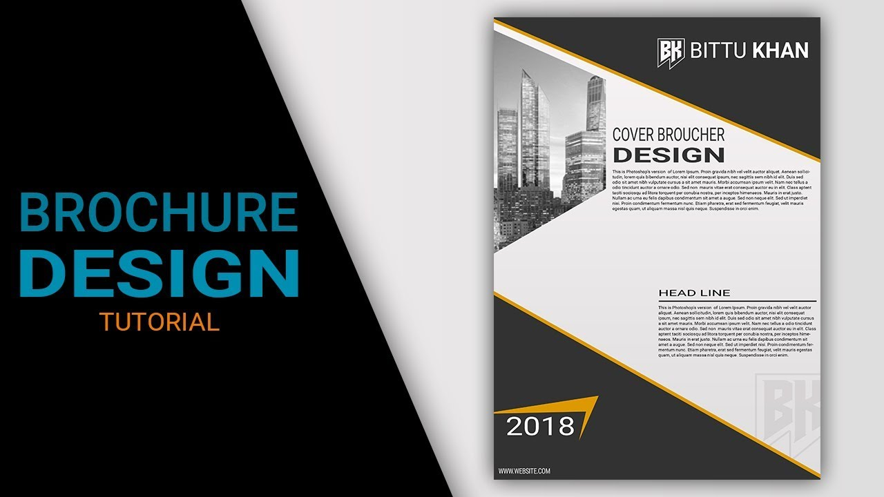 Brochure design tutorial in photoshop cs6 cs3 cs5 youtube for How to design a brochure in photoshop