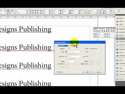 4 Ways to Underline Text in Adobe InDesign