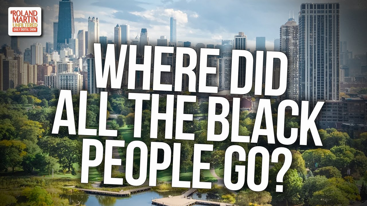 Where Did All The Black People Go? African American Population In Cook County & Chicago Is Shrin