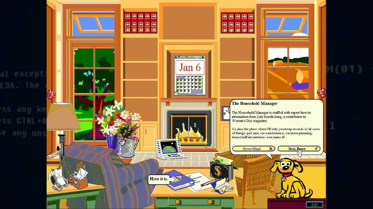 Microsoft BOB (1995): Von der Vereinfachung des Computers, die sich ...