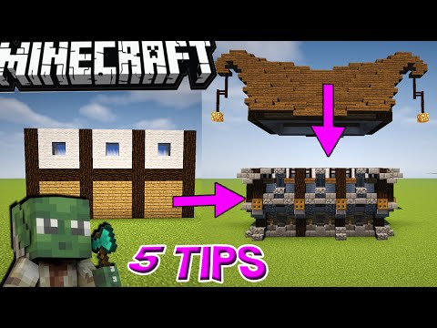 5 Golden & Easy Tips for Building in Minecraft