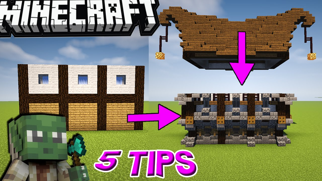 5 Epic Easy Tips For Building In Minecraft