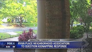 Fort Worth neighborhood group questions response to May kidnapping