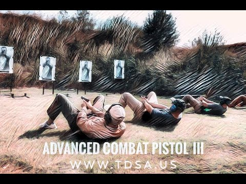 Advanced Combat Pistol with The Defensive Shooting Academy TDSA Tulsa