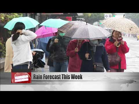 Cold And Rainy Weather Forecast For This Week
