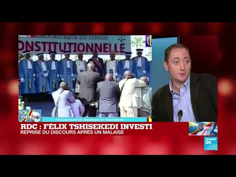 RD Congo : précisions sur le malaise de Félix Tshisekedi pendant son discours d'investiture