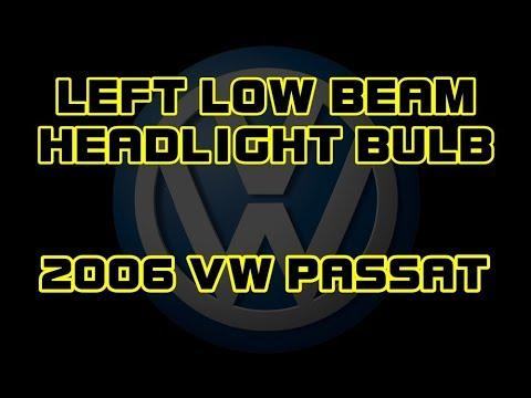 ⭐ 2007 Volkswagen Passat - Left Low Beam Bulb