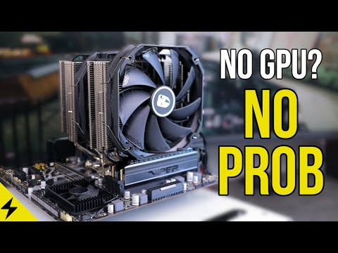Gaming without a Graphics Card Challenge!