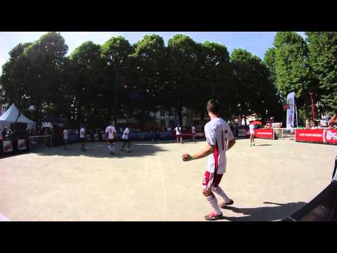 European Street Cup 2014 4vs4: Holland vs Latvia