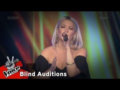 Ντόρις Θεοδωρίδη - Bad Romance | 8o Blind Audition | The Voice of Greece