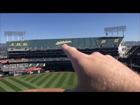 Exploring the Oakland Coliseum! | Angels Vlogs S2E8