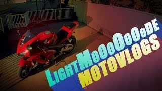 LightMode Motovlogs | Poo Party, Waving at Scooters, Daytime High-beams?!
