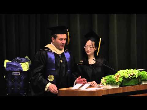 Haas School of Business MFE Commencement 2015