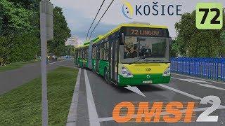 OMSI 2 Košice, L72 Myslava, Grunt Lingov & Irisbus Citelis 18M CNG #3304