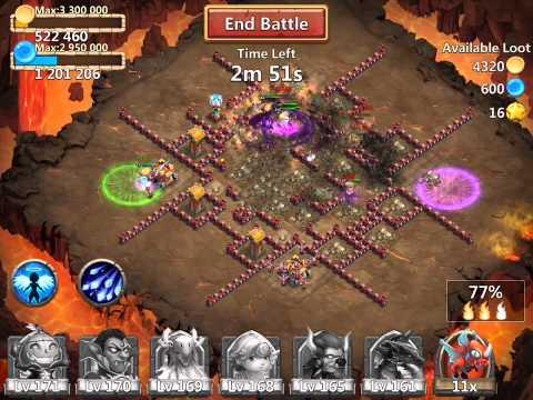 Castle Clash: Dungeon 8 - 40 Shard Dungeon Farming