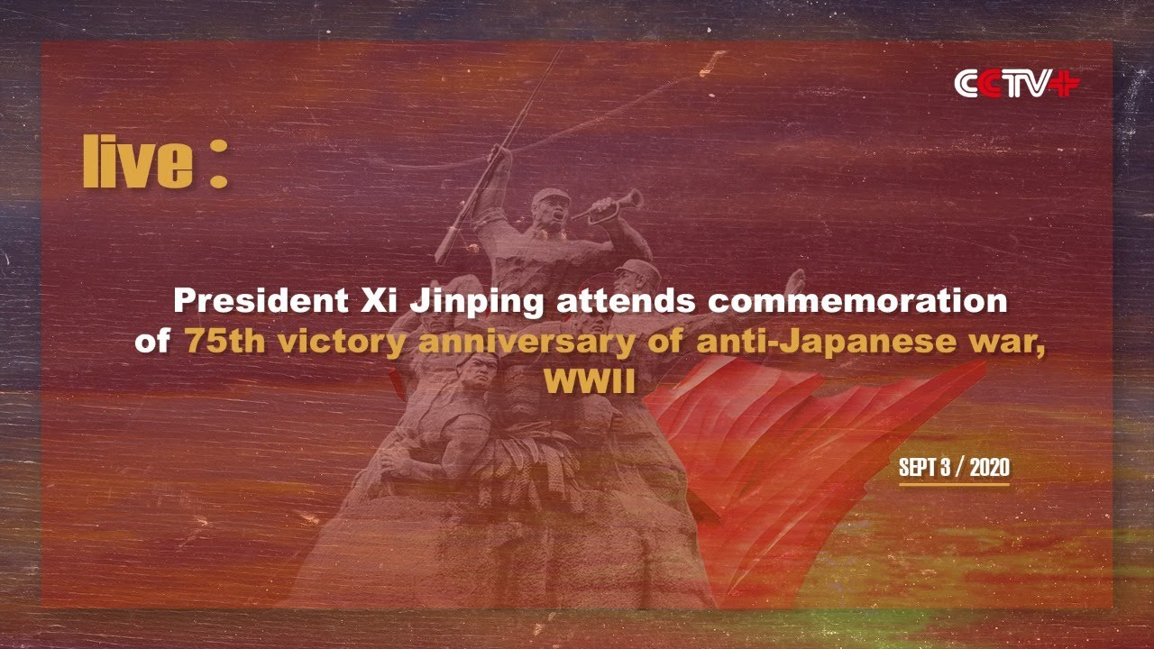 LIVE: Chinese President attends commemoration of 75th victory anniversary of anti-Japanese war, WWII