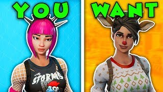 TOP 5 SKINS You WISH YOU BOUGHT! (Fortnite Battle Royale #2)