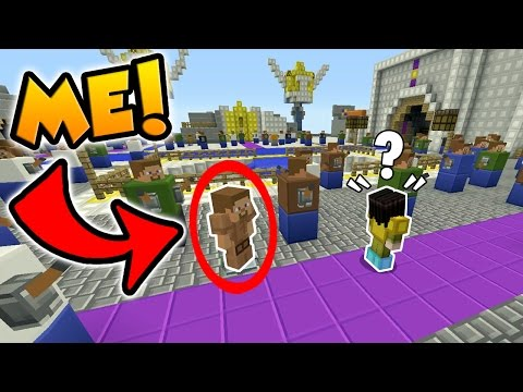 ARMOR STAND TROLL IN MINECRAFT HIDE AND SEEK!