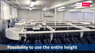Mercury: the automatic solution for industrial locker rooms