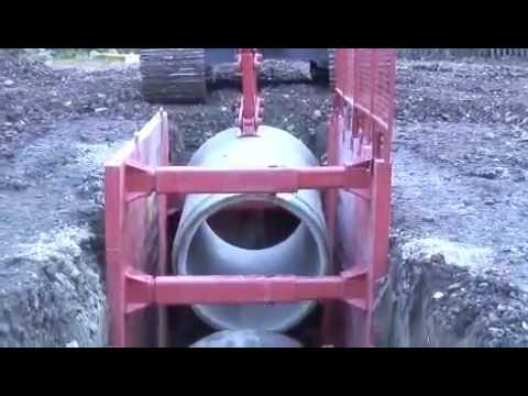 The Award winning Concrete Pipe Lifter