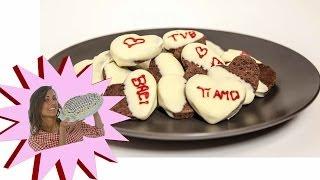 Biscotti al Cioccolato - Cuori di San Valentino