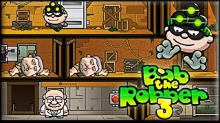 Bob the Robber 3 - Game Walkthrough (full)