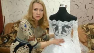 Обзор Китайского свадебного платья скопированного из европейского журнала