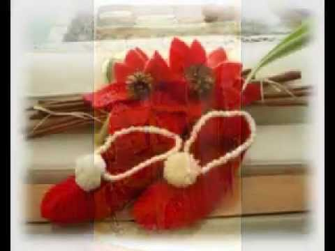 Idee Cucito Per Natale : Md ldg idee per natale cucito uncinetto genaehte gehaekelte