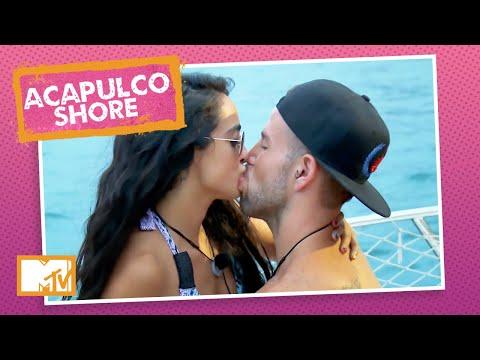 Mane e Tadeo se pegam no Iate Do Amor   MTV Acapulco Shore T1 indir