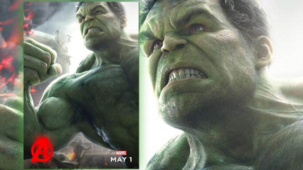 new avengers age of ultron poster featuring the hulk