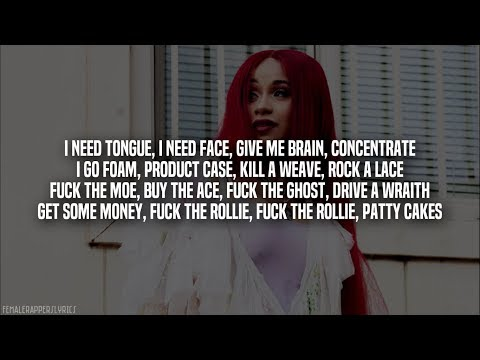 Cardi B - No Limit (Verse) [Lyrics - Video]