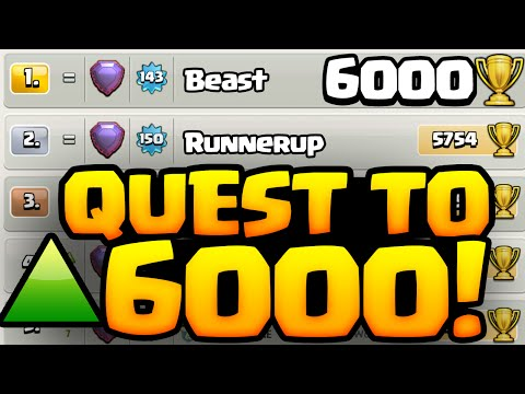 Clash of Clans ♦ Quest to 6000 Trophies! ♦ Episode 1 ♦ CoC ♦