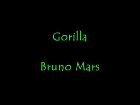 Bruno Mars- Gorilla Lyrics (Clean)