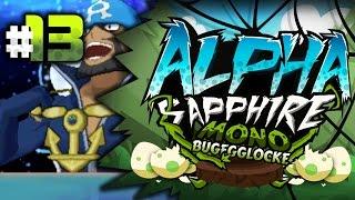 Pokemon Alpha Sapphire MonoBug EGGLOCKE Let's Play w/ aDrive Episode 13