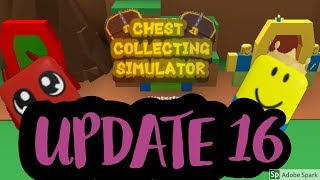 UPDATE 16 Roblox Chest Collecting Simulator