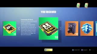 FORTNITE Uber LIMITED EDITION REWARDS PT 1