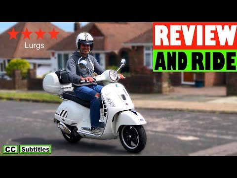 Vespa GTS 300 Review and Ride 🛵
