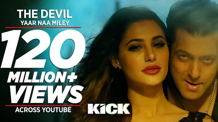 devilyaar naa miley full video song  salman khan  yo yo honey singh  kick