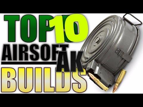 Top 10 Airsoft AK Builds (Airsoft Gun Countdown)