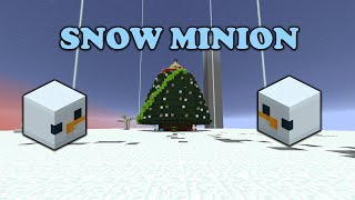 HOW TO GET SNOW MINION AND UPGRADES