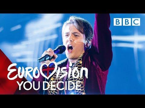Jordan Clarke performs 'Freaks' - Eurovision: You Decide 2019 - BBC
