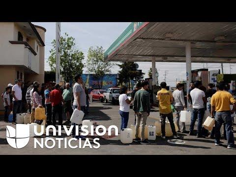 Millones sufren con la escasez de gasolina en México por las medidas contra el robo de combustible