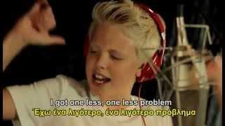 Repeat youtube video Ariana Grande - Problem (lyrics-GREEK LYRICS)