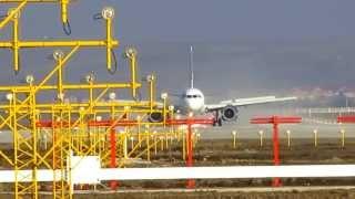 Prima Aterizare pe Noua Pista a Aeroportului Cluj-Napoca