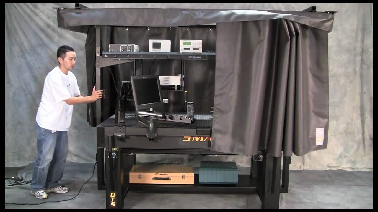Smarttable Ots Optical Table System Overview Youtube