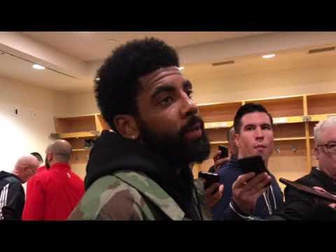 Celtics Kyrie Irving thought Gordon Hayward looked healthier vs. Toronto