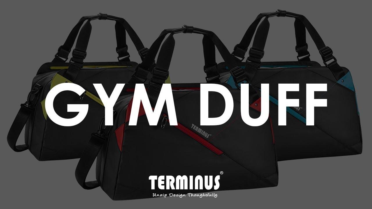 ad8d441a6b02 Terminus Gym Duff Bag - YouTube
