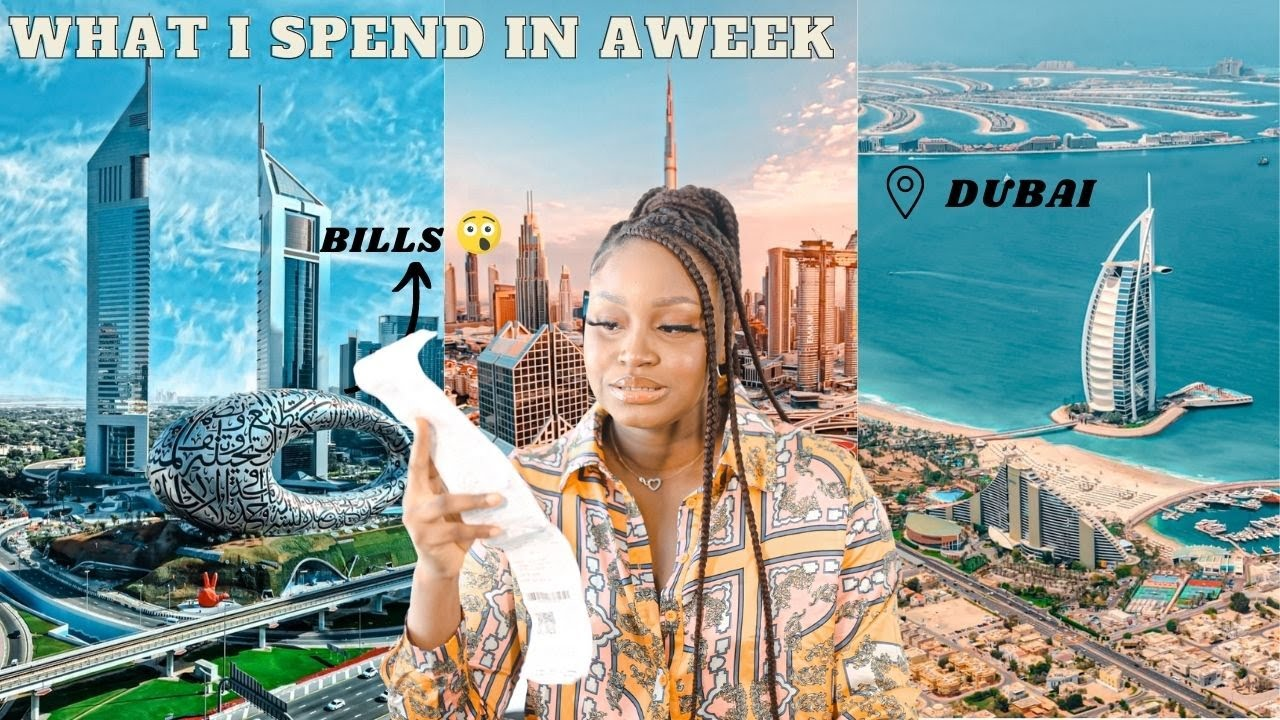 WHAT I SPEND IN A WEEK AS AN ENTREPRENEUR LIVING IN DUBAI || COST OF LIVING IN DUBAI