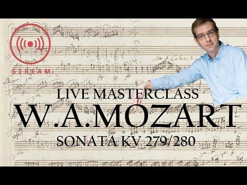 🔴Masterclass on W.A.Mozart Sonatas KV 279 /280 :: LIVE