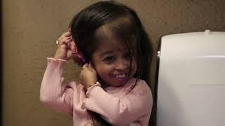 Шоппинг в детском отделе Самая маленькая женщина в мире TLC